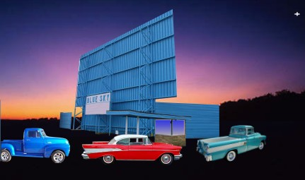 Blue Sky Drive In Theater Wadsworth Ohio